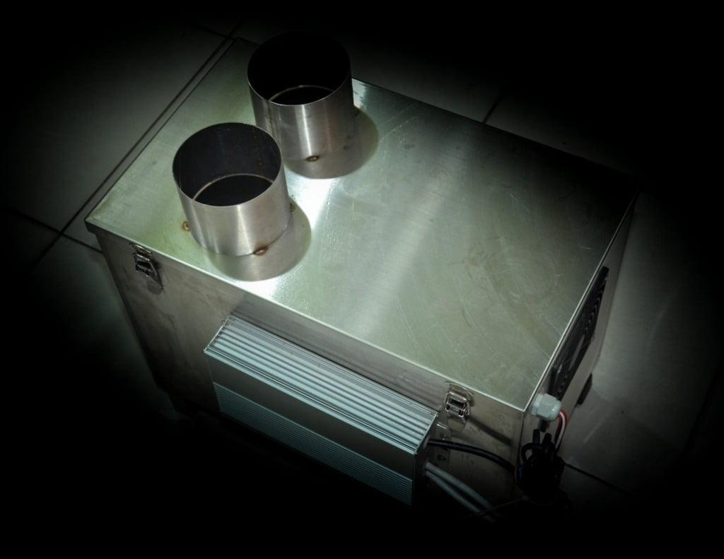 máy tạo ẩm 2 vỉ thùng inox