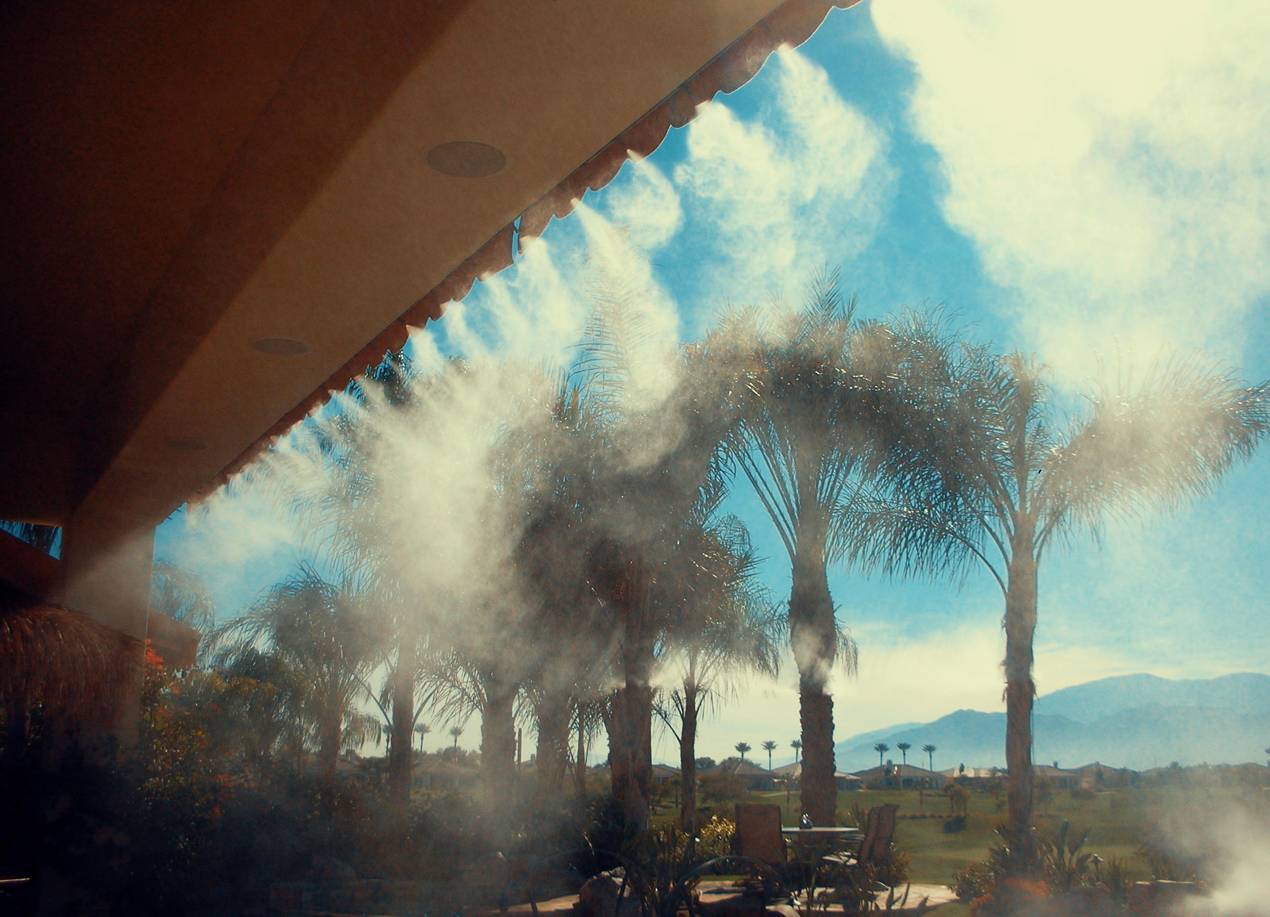 Hệ thống phun sương tạo cảnh quan
