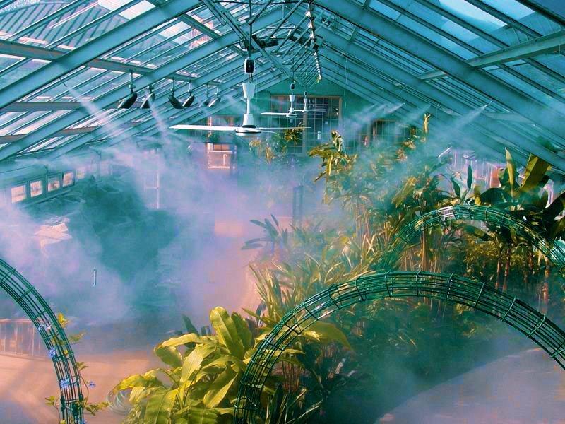 Hệ thống phun sương tưới lan tạo ẩm