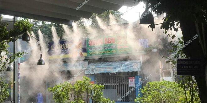 Các ứng dụng của hệ thống máy phun sương